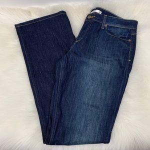 Joe's Honey Bootcut Distressed Dark Wash Jeans